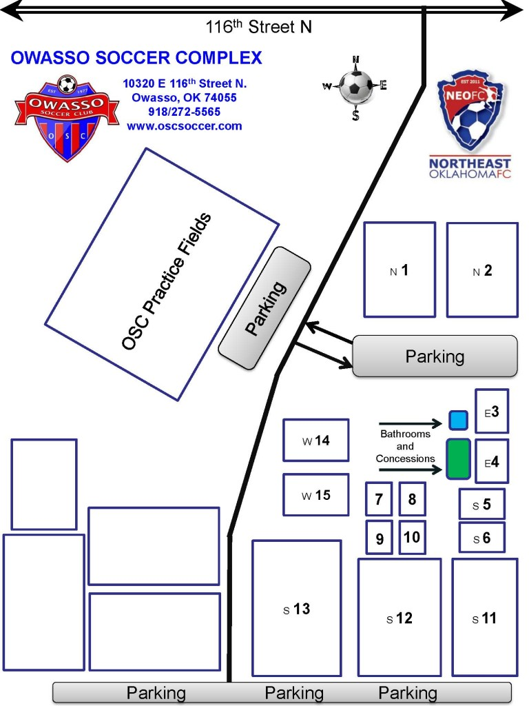 owasso complex soccer fields map rev 09-18-14