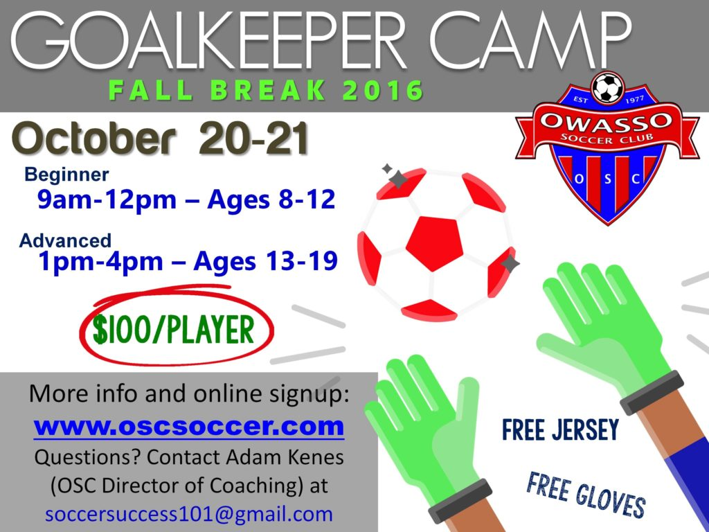 GK camp fall break 2016