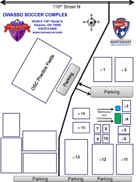 Field Map of OSC